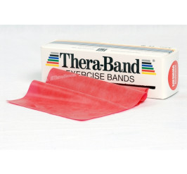 Thera-Band 5,5 m - rot (mittelstark)